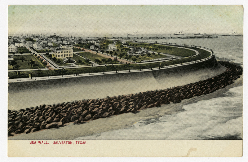 Sea Wall, Galveston, TX