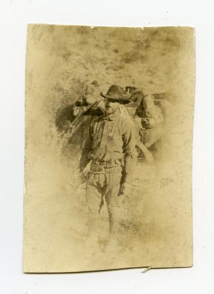 Texas Ranger J. R. Hunnicutt. (about 1919)