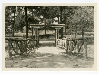 German POW cemetery at Camp Swift
