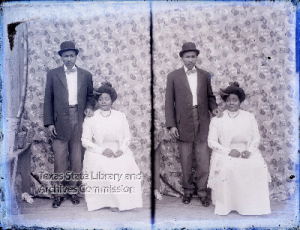 Clyde and Thelma See Glass Plate Negatives Collection