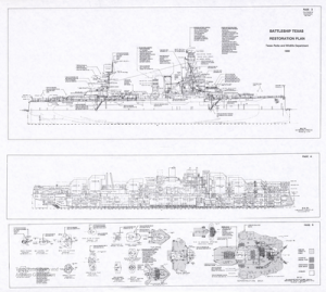 Battleship Texas Restoration Plan, 1993