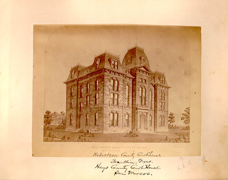 Photo of Williamson County Courthouse in Georgetown, Texas