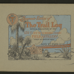 Souvenir Edition of The Trail Log: Official Publication of the 131st (2nd Texas National Guard) Field Artillery