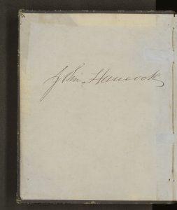 John Hancock Diary