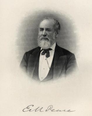 Governor Elisha Marshall Pease