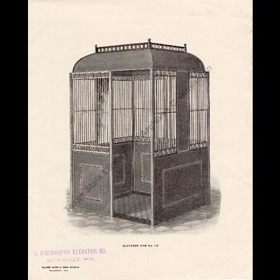 Elevator Cab No. 110
