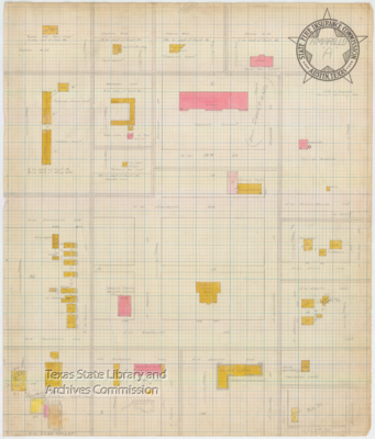 Amarillo Fire Insurance Map, after 1937