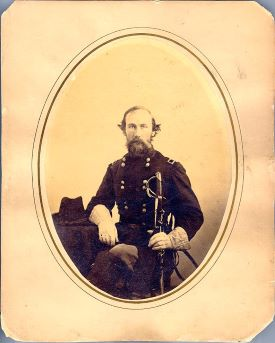 Governor Edmund Jackson Davis, while serving as a Brigadier General in the Federal Army