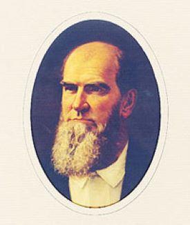 Portrait of Governor Richard Coke