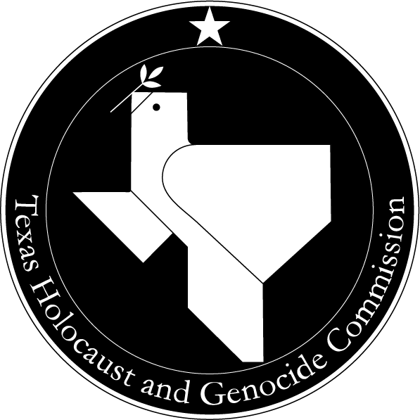 Logo for the Texas Holocaust and Genocide Commission