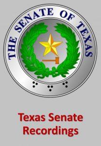 Texas Senate Recordings Custom Search