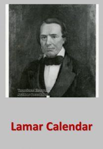 Lamar Calendar