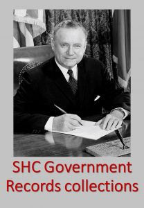 Sam Houston Center Government Records collections