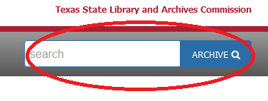 red circle around the TDA search bar