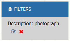 cropped screenshot of display after applying a filter