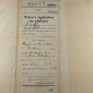 Example Confederate Pension Application